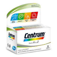 Centrum A-Ž, 30 tablet