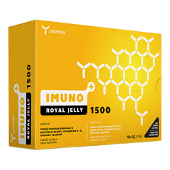 Yasenka Imuno+ Royal Jelly 1500 ampule