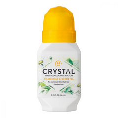 Crystal deodorant kamilica z zelenim čajem roll-on