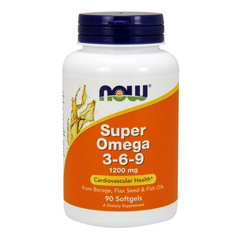 Now Super omega 3-6-9 - 1200 mg