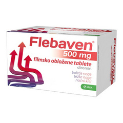 Flebaven 500 mg, 60 tablet