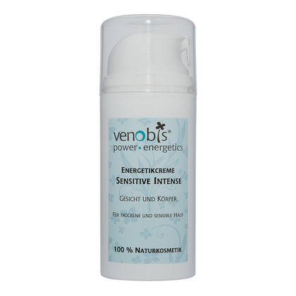 Venobis Sensitive Intense krema v embalaži s potisnim mehanizmom, 100 ml