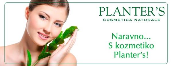 PLANTER'S naravna kozmetika