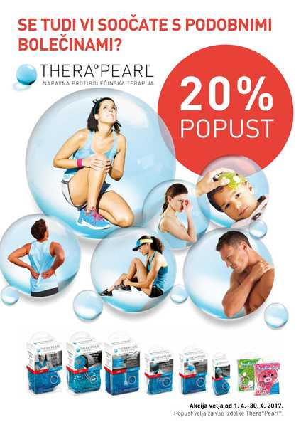 TheraPearl - 20% popust
