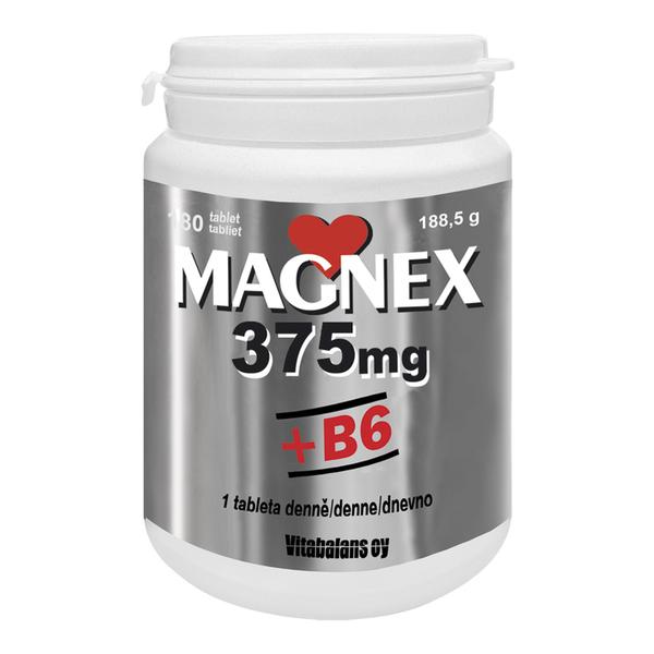 Magnex 375 mg + B6 - 70 tablet GRATIS
