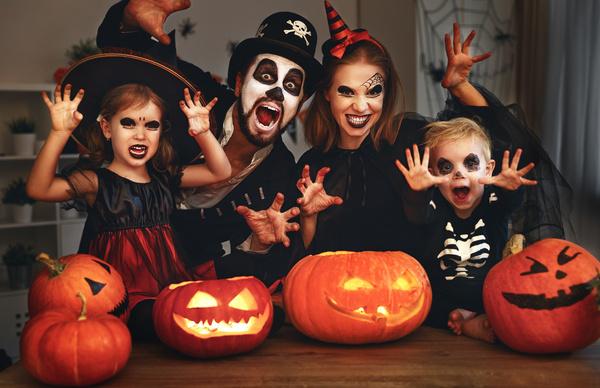 Noč čarovnic: Ne pozabite temeljito odstraniti ličil!