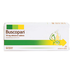 Buscopan 10 mg obložene tablete