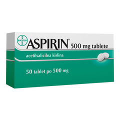 Aspirin 500 tablete