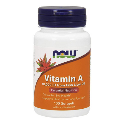 Now Vitamin A 10.000 IE