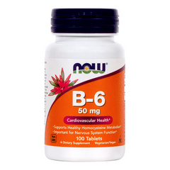 Now Vitamin B-6 50 mg