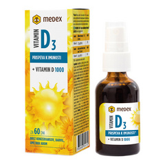 Medex Vitamin D 1000 pršilo